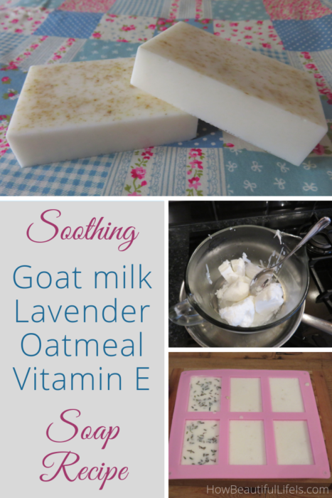 Soothing Goat Milk, Lavender, Oatmeal